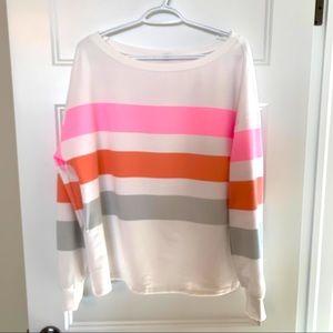 Brand new cozy striped sweater